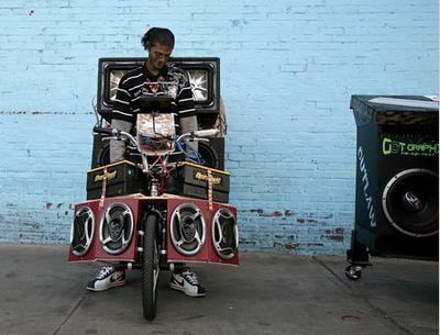 Велосипедная музыка.