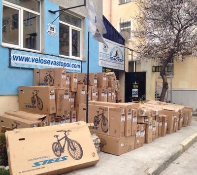 Большое поступление велосипедов Stels