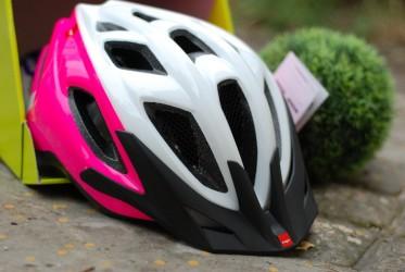 Шлем MET FUNANGO бело-розовый